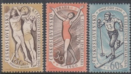Czechoslovakia SG 1133-1135 1960 2nd National Spartacist Game, Mint Never Hinged - Nuovi
