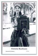 CHRISTINE KAUFMANN - Film Star Pin Up PHOTO POSTCARD - 197-6 Swiftsure Postcard - Artistas