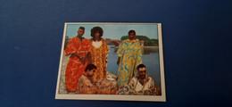 Figurina Panini Cantanti 1972 - African People - Panini