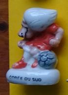 Fève - Foot Gone - Alcara 1998 - Campagne Ville De Lyon Pour Les Restaurants Du Coeur - Corée Du Sud - Sports