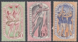 Czechoslovakia SG 1160-11625 1960 2nd National Spartacist Game 2nd Issue, Mint Never Hinged - Nuovi