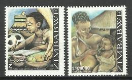 ZIMBABWE 2007 CHILD LIFE SET MNH - Zimbabwe (1980-...)