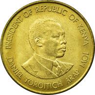 Monnaie, Kenya, 10 Cents, 1991, British Royal Mint, TTB, Nickel-brass, KM:18 - Kenya