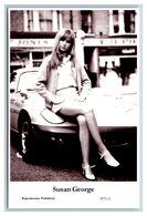 SUSAN GEORGE - Film Star Pin Up PHOTO POSTCARD - P73-1 Swiftsure Postcard - Artistas
