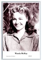 WANDA McKAY - Film Star Pin Up PHOTO POSTCARD - A240-4 Swiftsure Postcard - Künstler