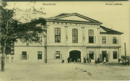 HUNGARY - DOMBOVAR - KORONA SZALLODA - MONOSTORY GYORGY - 1918 (BG2072) - Hongrie