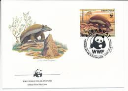 Mi 3855 FDC / WWF World Wildlife Fund / Giant Armadillo Priodontes Giganteus Tatou Ocarro Tatu-canastra - 13 March 1985 - Paraguay