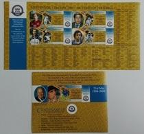 Tanzania 2005** Klb.4260-63, Bl.575. Centenary Of FIFA MNH [14;38] - Soccer
