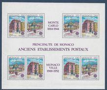 Monaco - Bloc YT N° 49 - Neuf Sans Charnière - 1990 - Blocs