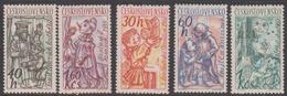 Czechoslovakia SG 1232-1236 1961 Puppets, Mint Never Hinged - Nuovi