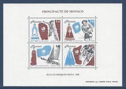 Monaco - Bloc YT N° 42 - Neuf Sans Charnière - 1988 - Blocs