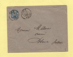 Paris 2 - R. Milton - 1897 - Type Sage - Marcophilie (Lettres)