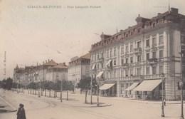 SWITZERLAND-SCHWEIZ-SUISSE-SVIZZERA-CHAUX DE FONDS-RUE LEOPOLD ROBERT-CARTOLINA VIAGGIATA IL 2-11-1907 - NE Neuchâtel