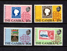 GAMBIA   1979    Death  Centenary  Of  Sir  Rowland  Hill     Set  Of  4         MNH - Gambie (1965-...)