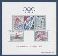 Monaco - Bloc YT N° 11 - Neuf Avec Légère Adhérence - 1976 - Blocs
