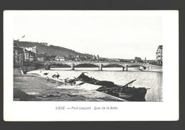 Liège - Pont Léopold: Quai De La Batte - Dos Simple - Liege