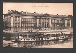 Liège - L'Institut Zoologique - Bateau - Liege
