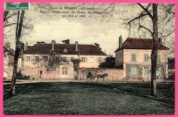 Cp Toilée - Forêt De Sénart - Faisanderie - Ancien Rendez Vous De Chasse De L'Empereur En 1865 - Attelage - Animée - Sénart