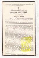 DP Eugenie Vuylsteke ° Bekegem Ichtegem 1862 † 1946 X Ph. Bonny - Devotion Images
