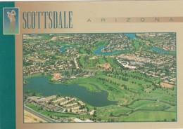 Arizona Scottsdale Aerial View Golf Course - Scottsdale