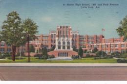 Arkansas Little Rock Senior High School 1956 Curteich - Little Rock