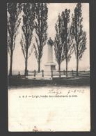 Liège - Tombe Des Combattants De 1830 - Dos Simple - 1902 - Liege