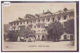 CHARMEY - HOTEL DU SAPIN - AUTOMOBILE - TB - FR Fribourg