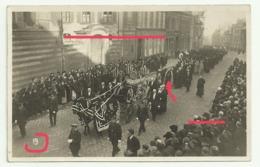 AMIENS Carte Photo  ENTERREMENT Presence Monseigneur LECOMTE - Amiens