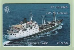 St Helena - 1995 Ships - £15 RMS St Helena - STH-14 - VFU - Sainte-Hélène