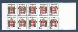 Monaco - Carnet YT N° 1 - Neuf Sans Charnière - 1987 - Blocs