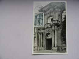 CARTE MAXIMUM CARD PORTE DE METTLACH SAAR - Zone Française