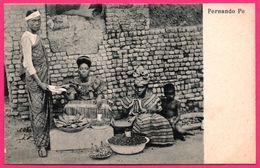 Fernando Po - Poo - Homme, Femmes Et Enfants - Vendeur - Marchand - Animée - Guinée Equatoriale