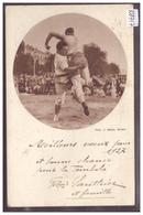 GENEVE - FETE CANTONALE DE GYMNASTIQUE 1927 - PASSE DE LUTTE SUISSE - TB - GE Geneva