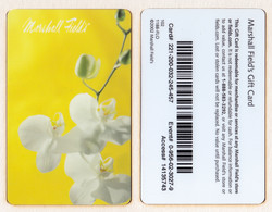 Giftcard - USA - Marshall Field's Orchidea Xy043 - Gift Cards