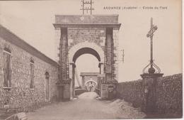 CPA Andance - Entrée Du Pont - France