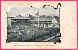 Fernando Poo - Po - Agencia De La Trasatlantica Y Casa Gobierno - Maison Du Gouvernement - CUNILL BARNA - Equatorial Guinea