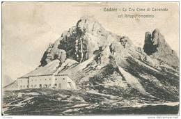 Italie CADORE -   Le Tre Cime Di  LAVAREDO  Col Rifugio Omonimo - Italia