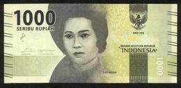 Indonesien 2016, 1000 Rupiah - UNC, Kassenfrisch - Indonesien