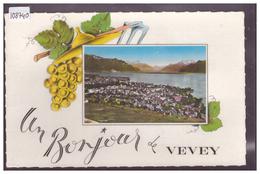 DISTRICT DE VEVEY - UN BONJOUR DE VEVEY - TB - VD Vaud