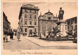 Ascoli Piceno - Piazza Roma E Monumento Ai Caduti - - Ascoli Piceno