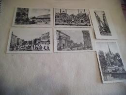 LOT DE 6 CARTES PUBLICITE..LABORATOIRES...ANCIEN PARIS ... - Postcards
