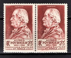 FRANCE 1946 - PAIRE Y.T. N° 748 - NEUFS** - France