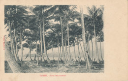 A M 191 /  C P A - TAHITI  SOUS LES COCOTIERS - Tahiti