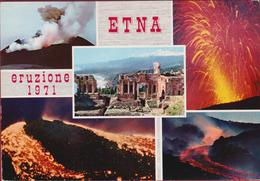 Etna 1971 Eruzione Eruption Volcano Vulkan Vulkaan Japan Nippon Italia Italy Italie Sicilia Sicily - Catania