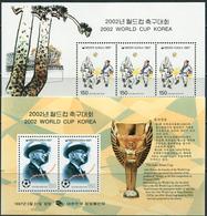 South Korea 1997. Michel Bl.#637/38 MNH/Luxe. Football WC. Japan And South Korea-2002. (L22) - 2002 – Corée Du Sud / Japon