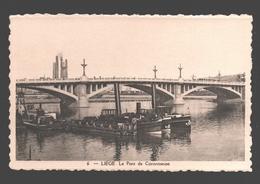 Liège - Le Pont De Coronmeuse - éd. Phototypie Légia - Carte Dentelée - Liege