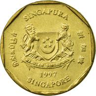 Monnaie, Singapour, Dollar, 1997, Singapore Mint, TTB, Aluminum-Bronze, KM:103 - Singapour