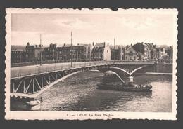 Liège - Le Pont Maghin - éd. Phototypie Légia - Carte Dentelée - Liege