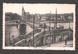 Liège - La Passerelle - éd. Phototypie Légia - Carte Dentelée - Liege