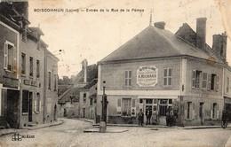 Boiscommun  45   Entrée De La Rue De La Pompe-Tabac-Buvette-Epicerie-Animée RICHARD-en Face Magasin - Sonstige Gemeinden